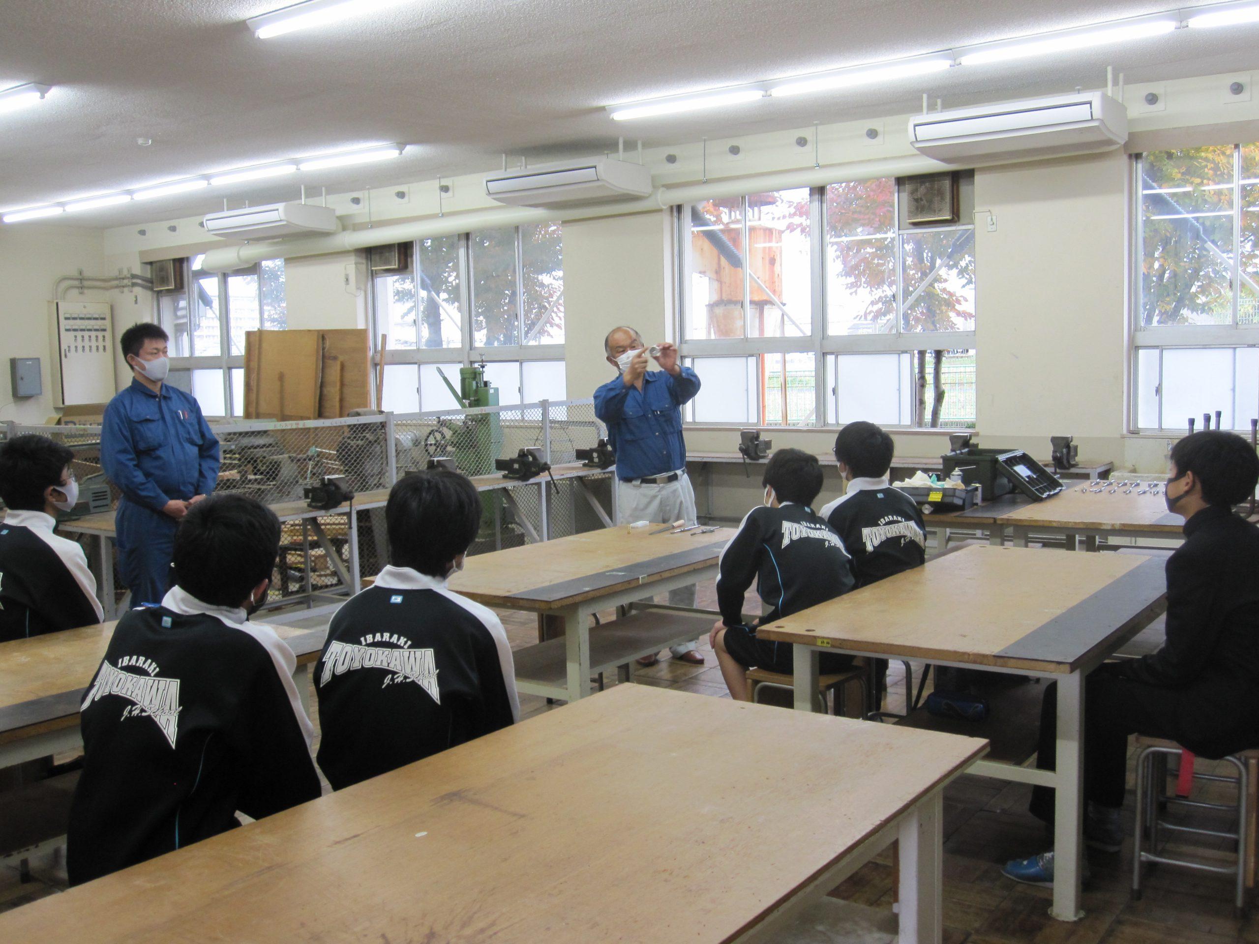 M出前授業豊川中1